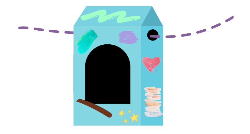 build a bird feeder - step seven